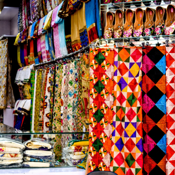 Stunning Embroidery in India!